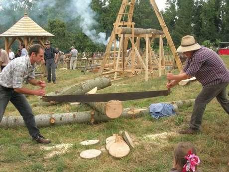 Fête du bois au village d'Antan