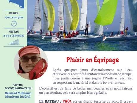 Régates en Bretagne