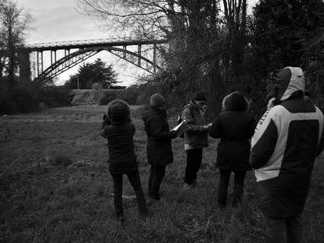 Balade racontée : le viaduc de Caroual et le petit train des Côtes du Nord