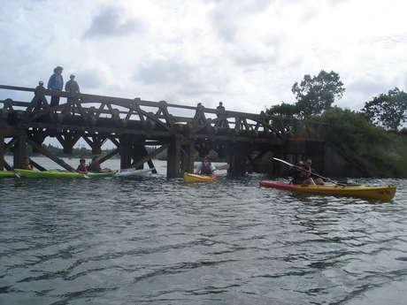 Découverte du marais des Sables d'Or au crépuscule en kayak