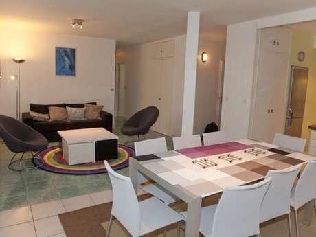 Appartement de 80m² à 50 m de la plage du Val-André