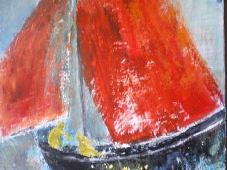 Exposition peintures Maïté Le Reun