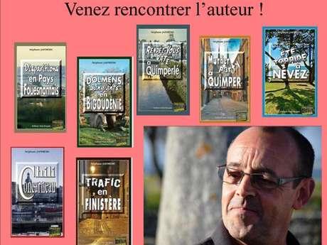 Rencontre avec Stéphane Jaffrézic - Auteur de romans policiers