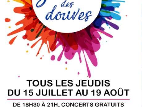 Jeudis des Douves - Concerts - Oanell Fey et Captain Excelsior & The Cosmic Crabs