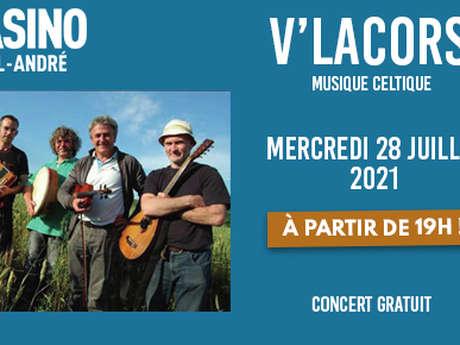 Concert au Casino : V'LACORS