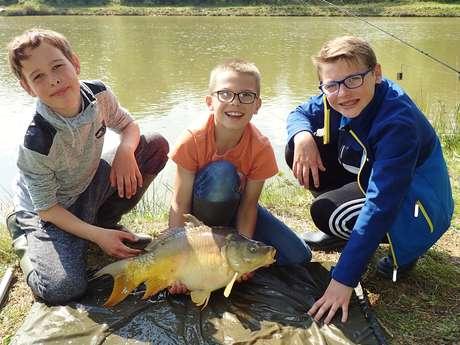 Initiation pêche à la carpe