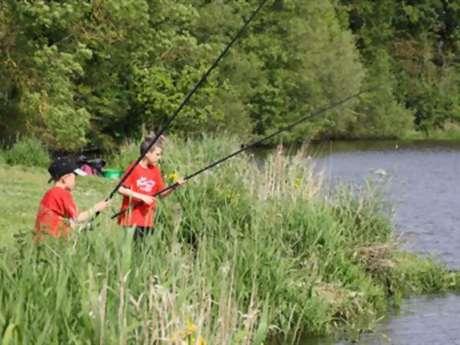 Initiation pêche de la carpe