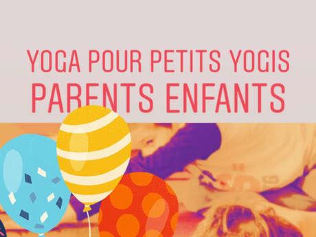 Atelier pour Petits Yogis-Parents enfants