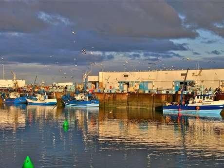Port de pêche de Saint-Guénolé
