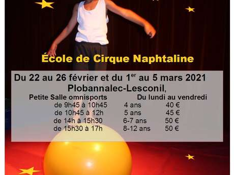 Stage - Cirque découverte 4/12 ans