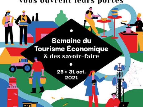Semaine du Tourisme Économique & des Savoir-Faire -  Visite d'une ferme laitière