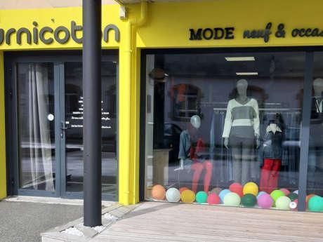 Boutique de vêtements - Tournicoton
