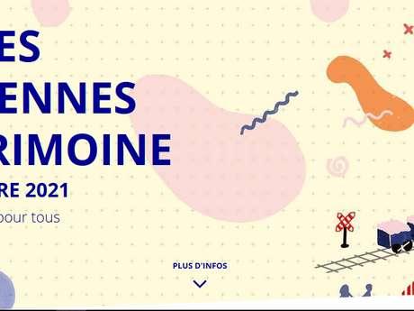 Journées du Patrimoine - Concert Duo Cabaret - Rocher + Youenn Lange