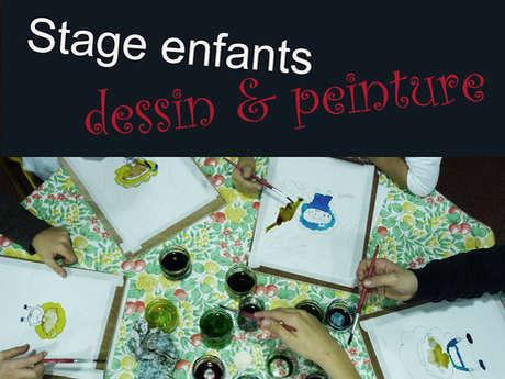 Stage dessin & peinture enfant
