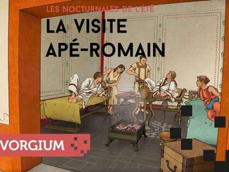 La visite « apé-romain » en nocturne