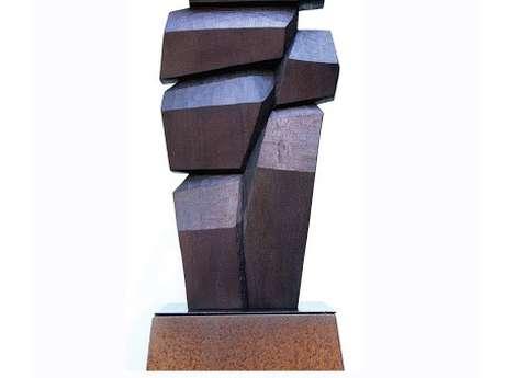 Expo sculptures-aquarelles-dessins-Bertrand Creac'h