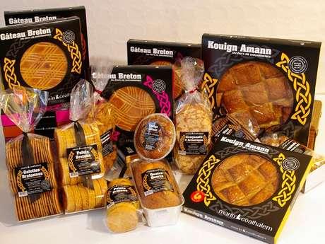 Biscuiterie du Kouign amman du Pays de Douarnenez