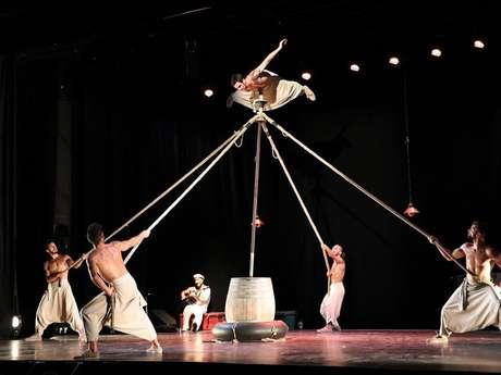 Spectacle de danse accrobatique avec le Spok Festival