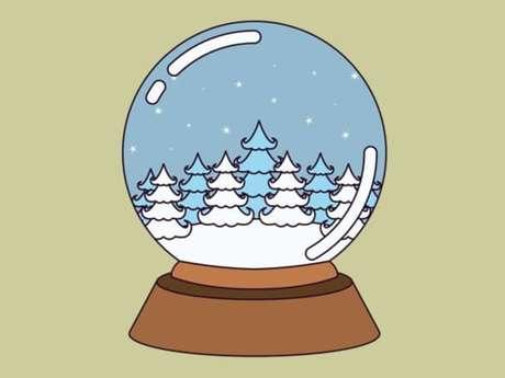 Bibliothèque - Atelier boule à neige