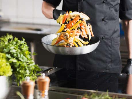 """Cidrerie Kerné - Atelier """"Cours de cuisine avec Pierrick L'Hôtellier"""""""