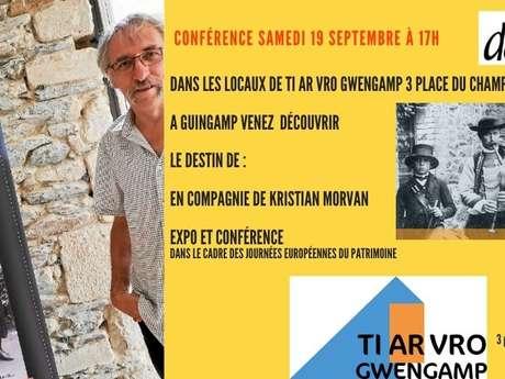Journées Européennes du patrimoine - Jean Guillerm, première cornemuse de Bretagne