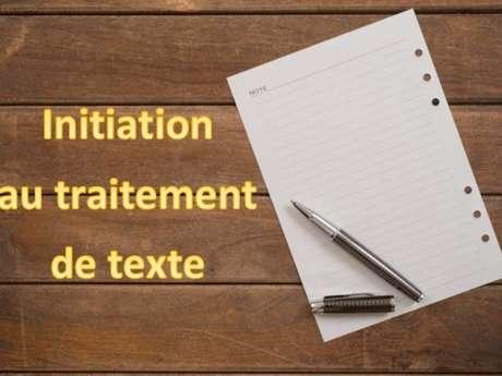 Initiation au traitement de texte avec LibreOffice - ANNULÉ