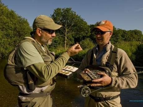 Eric Hamon, Guide-moniteur de pêche