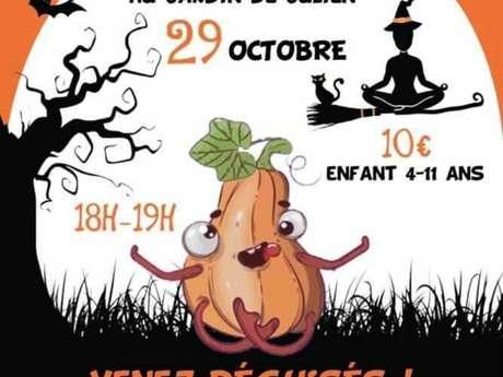 Halloween Yoga Party pour enfants