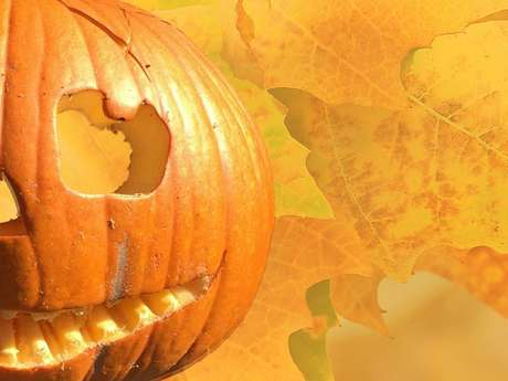 Bricolages d'automne : citrouille à creuser