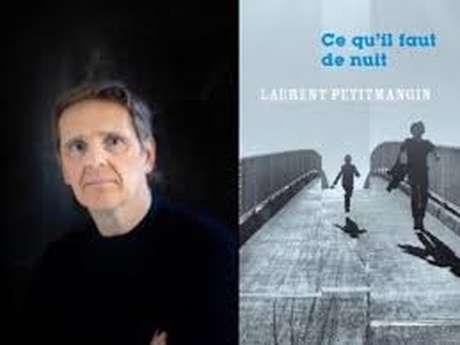 Laurent Petitmangin, lauréat du prix des lecteurs Mots et Images 2020.