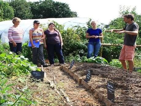 Visite du jardin et repas convivial