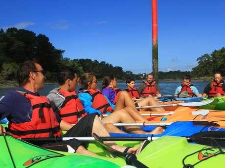 Balade Kayak sur la rivière de Pont l'Abbé