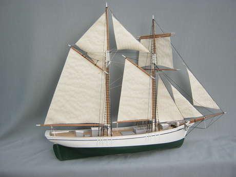 Frédéric Leglaive, Maquettes de bateaux