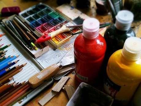 Stage d'arts plastiques - Jeune public