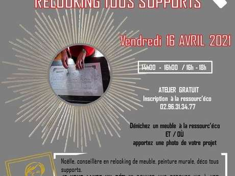Initiation relooking tous supports - REPORTÉ