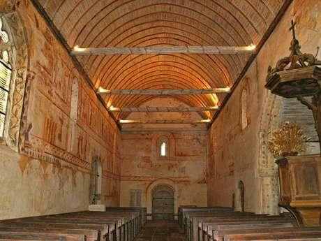 Balade des arts : visite guidée l'Eglise St Gobrien de Morieux