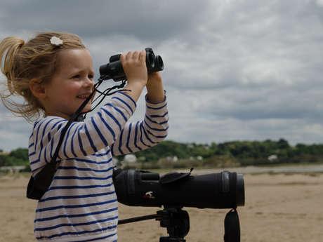 Atelier Nature pour les 4-6 ans : Mes sens en éveil !