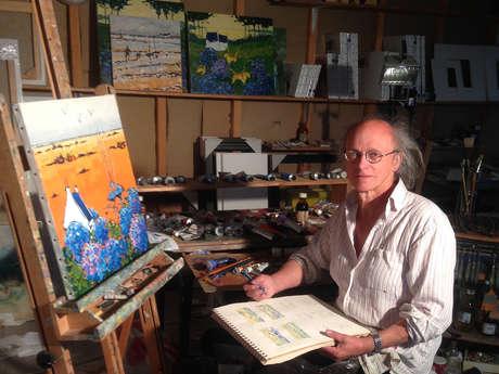 Lionel Le Calvez, Artiste peintre - Catherine, Galériste