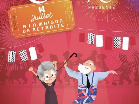 Théâtre - 14 Juillet à la maison de retraite - ANNULE