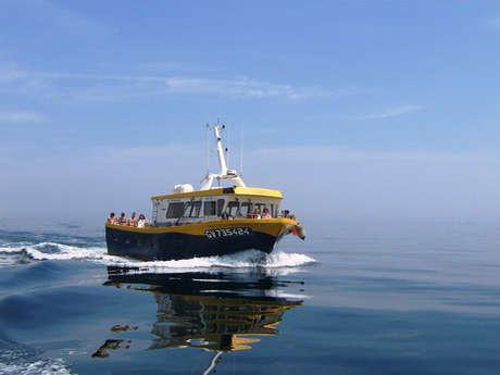 Promenades et pêche en mer Soizen