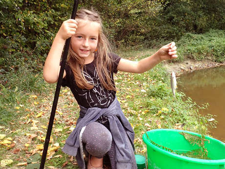 Je pêche mon premier poisson