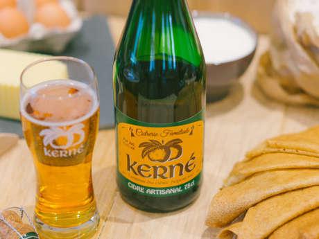 """Cidrerie Kerné - Atelier """"réalisation de crêpes bretonnes"""""""