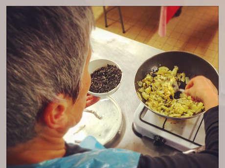 Ateliers de cuisine de Scarlette Le Corre