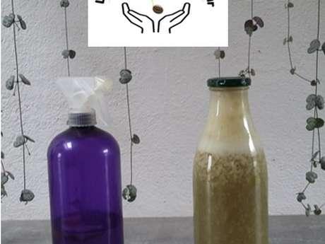 Réaliser ses produits d'entretien naturels.