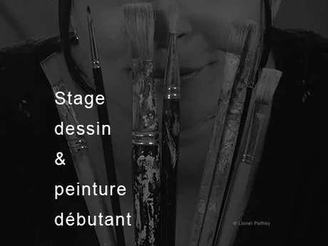 Stages dessin & peinture - Débutant