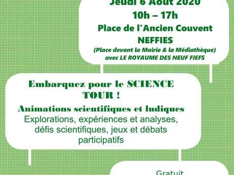LE SCIENCE TOUR - JOURNÉE BIODIVERSITÉ À NEFFIÈS