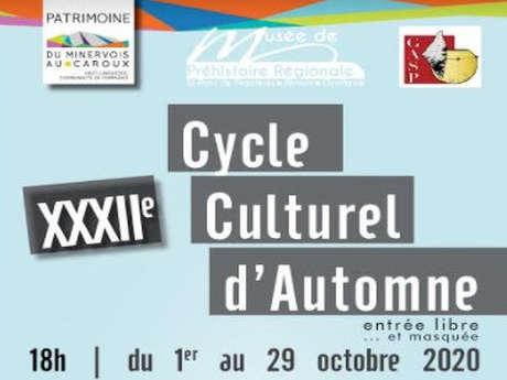 XXXIIE CYCLE CULTUREL D'AUTOMNE