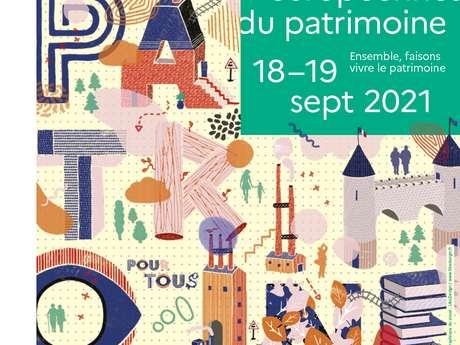 JOURNÉES EUROPÉENNES DU PATRIMOINE : EXPOSITION À POILHES
