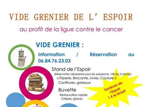 VIDE-GRENIER DE L'ESPOIR