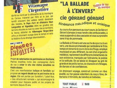 BALLADE A L'ENVERS : VILLEMAGNE L'ARGENTIÈRE